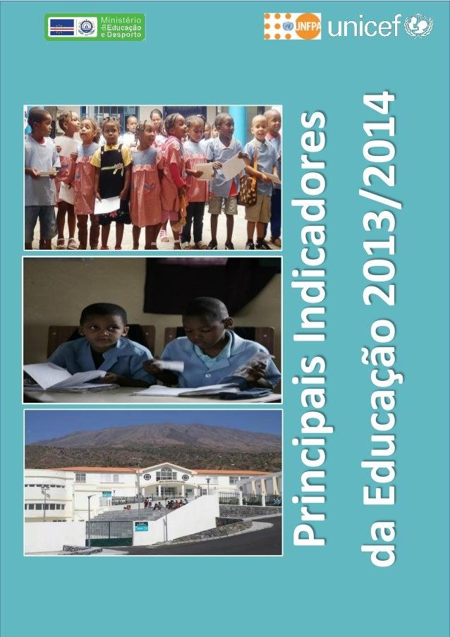 PrincipaisIndicadores daEducação2013/2014