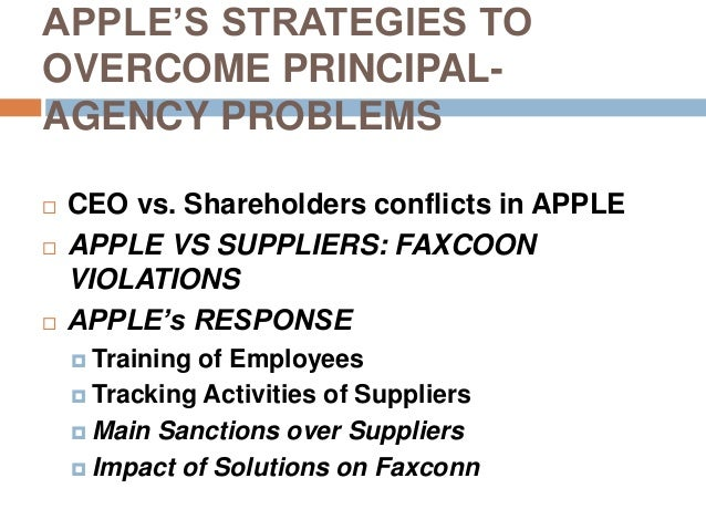 How do modern corporations deal with agency problems?