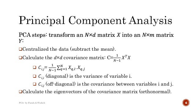 principal component analysis Sparse principal component analysis huiz ou,trevor h astie and robertt ibshirani principalcomponentanalysis(pca)iswidelyusedindataprocessinganddimension-alityreductionhowever,pcasuffersfromthefactthateachprincipalcomponentisalinear.