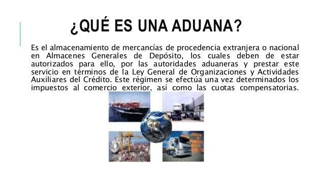 Principales aduanas mexicanas for Que significa exterior