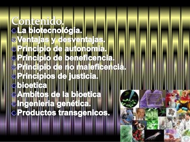 Principales aportaciones de la biotecnológia Slide 2