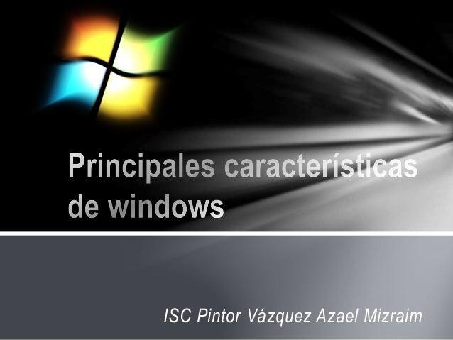 ISC Pintor Vázquez Azael Mizraim