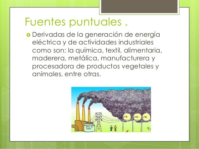Principales fuentes de contaminacion - Fuentes de contaminacion de los alimentos ...