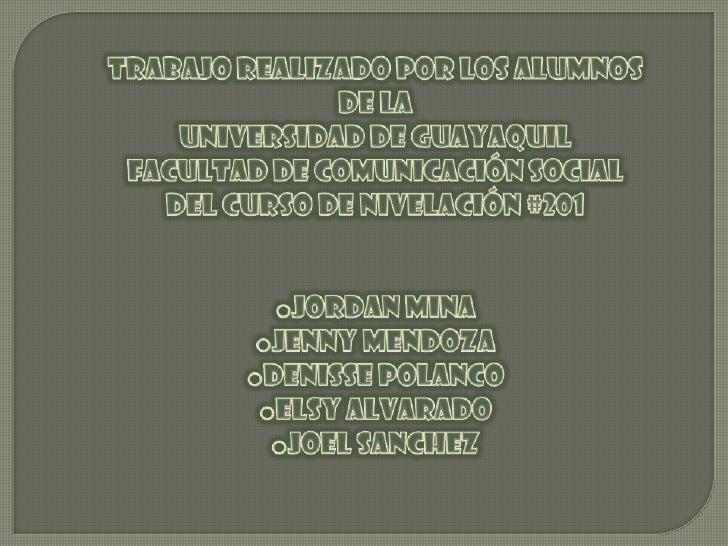 Diario EL UNIVERSO tuvo su primera sede en la ciudad deChimborazo. Las oficinas ocupaban la planta baja de la propiedaddel...
