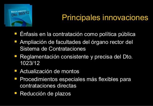 innovaciones nacionales