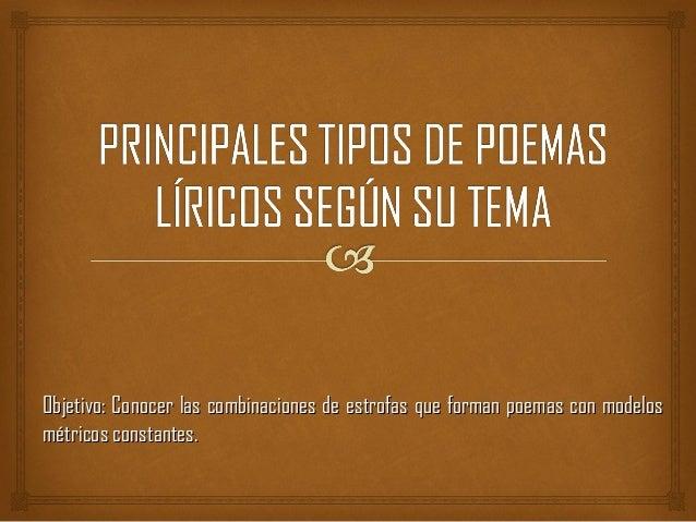 Principales tipos de poemas l ricos seg n su tema for Buscador de poemas