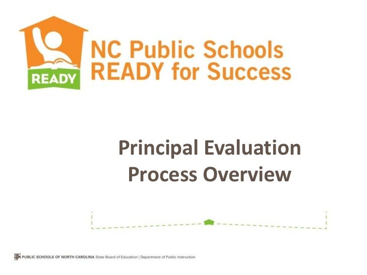 Principal Evaluation Process Overview