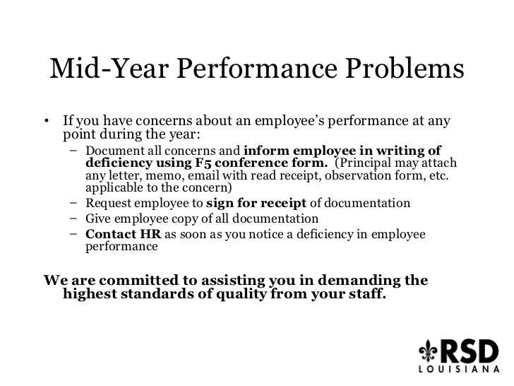 Principal Presentation Performance Appraisal Process 2009 2010