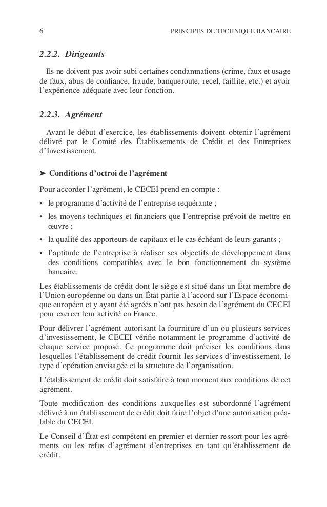 Introduction 7 ©Dunod–Laphotocopienonautoriséeestundélit. ➤ Perte du droit d'exercice de l'activité bancaire ◆ Retrait d'a...