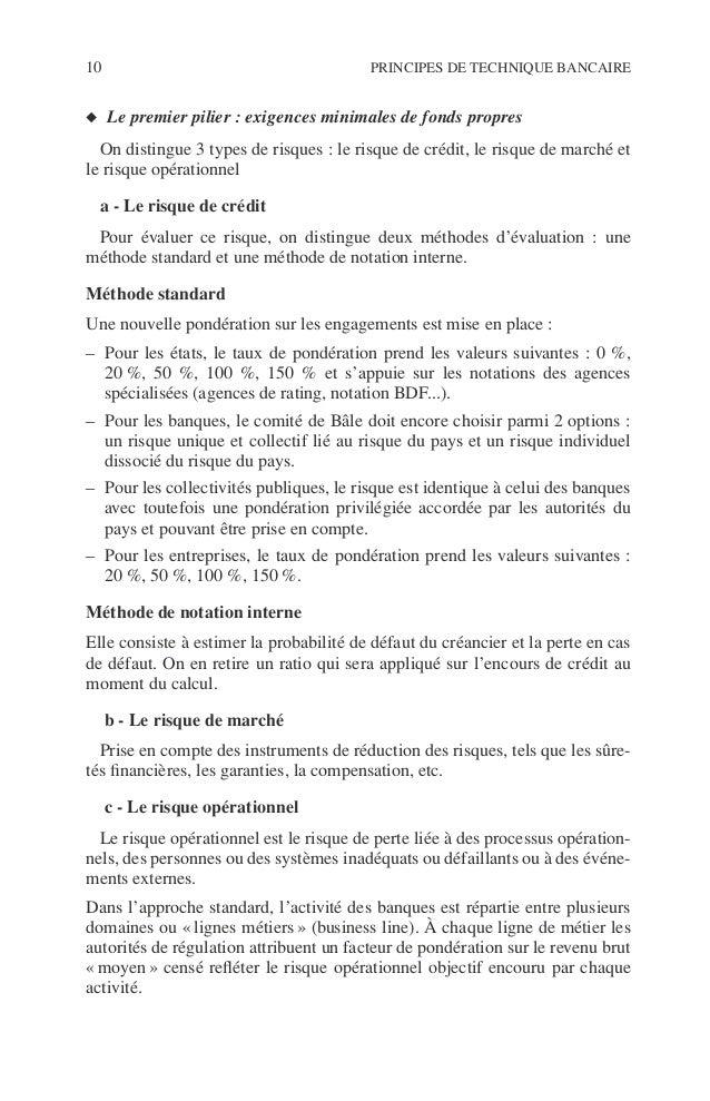 Introduction 11 ©Dunod–Laphotocopienonautoriséeestundélit. ◆ Le deuxième pilier : processus de surveillance prudentielle. ...