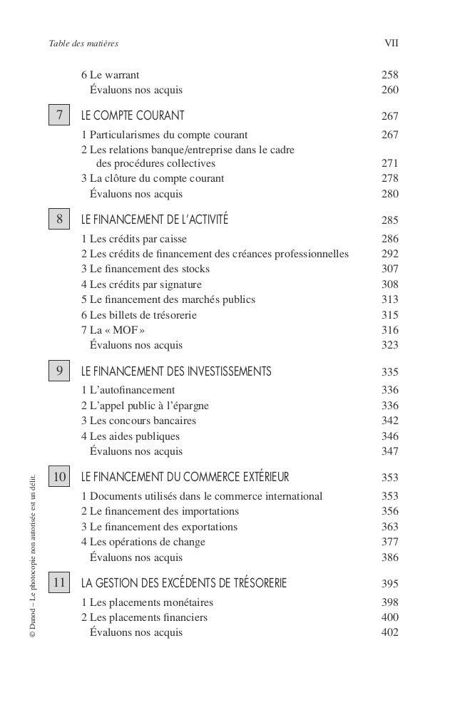 VIII PRINCIPES DE TECHNIQUE BANCAIRE TROISIÈME PARTIE La banque et les marchés de capitaux GÉNÉRALITÉS SUR LES MARCHÉS DE ...