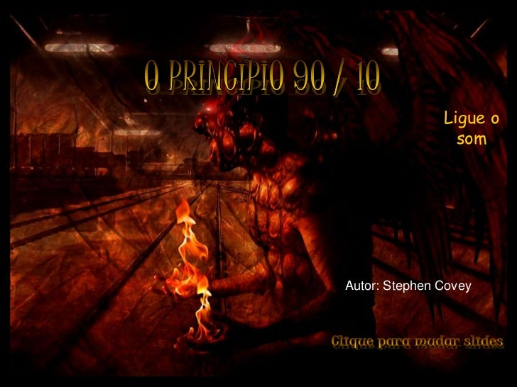 Ligue o                                                som                               Autor: Stephen CoveyPrado Slides ...