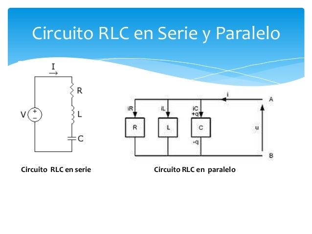 Circuito En Serie Y Paralelo : Circuitos rlc