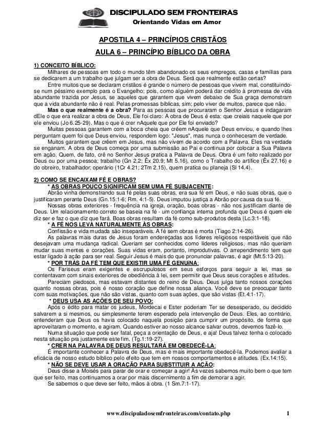 www.discipuladosemfronteiras.com/contato.php 1 DISCIPULADO SEM FRONTEIRASDISCIPULADO SEM FRONTEIRASDISCIPULADO SEM FRONTEI...