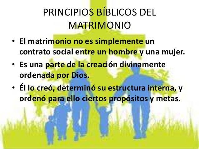 Matrimonio Segun Biblia : Principios bíblicos del matrimonio