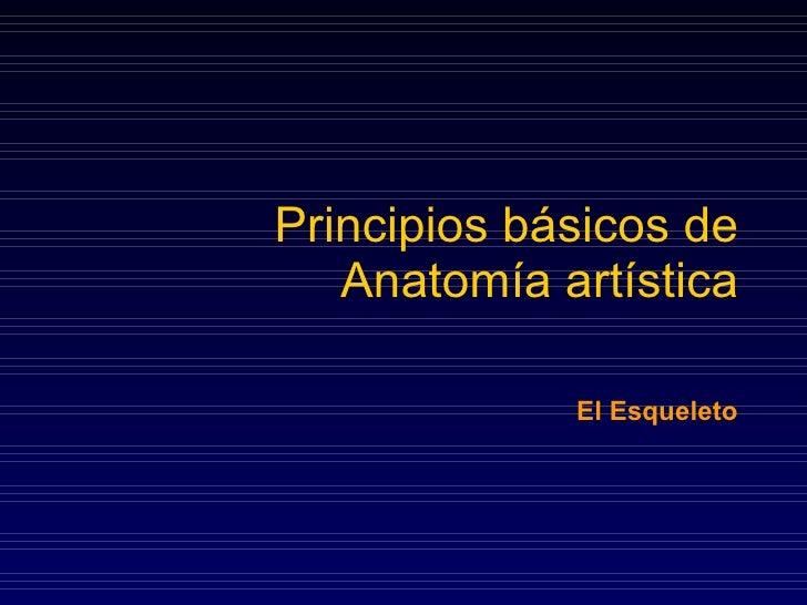 Principios básicos de anatomia(esqueleto)