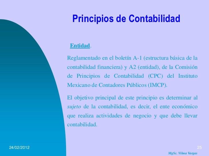 Principios De Contabilidad