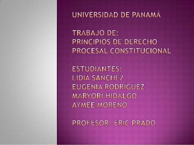 La validez y la utilización de los principios ydesarrollo del Derecho Procesal General sólo sonposibles desde la visión de...