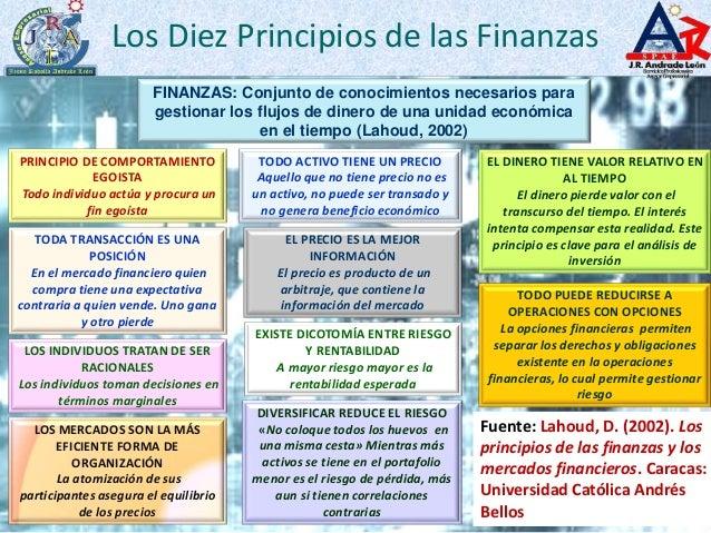 Los Diez Principios De Las Finanzas