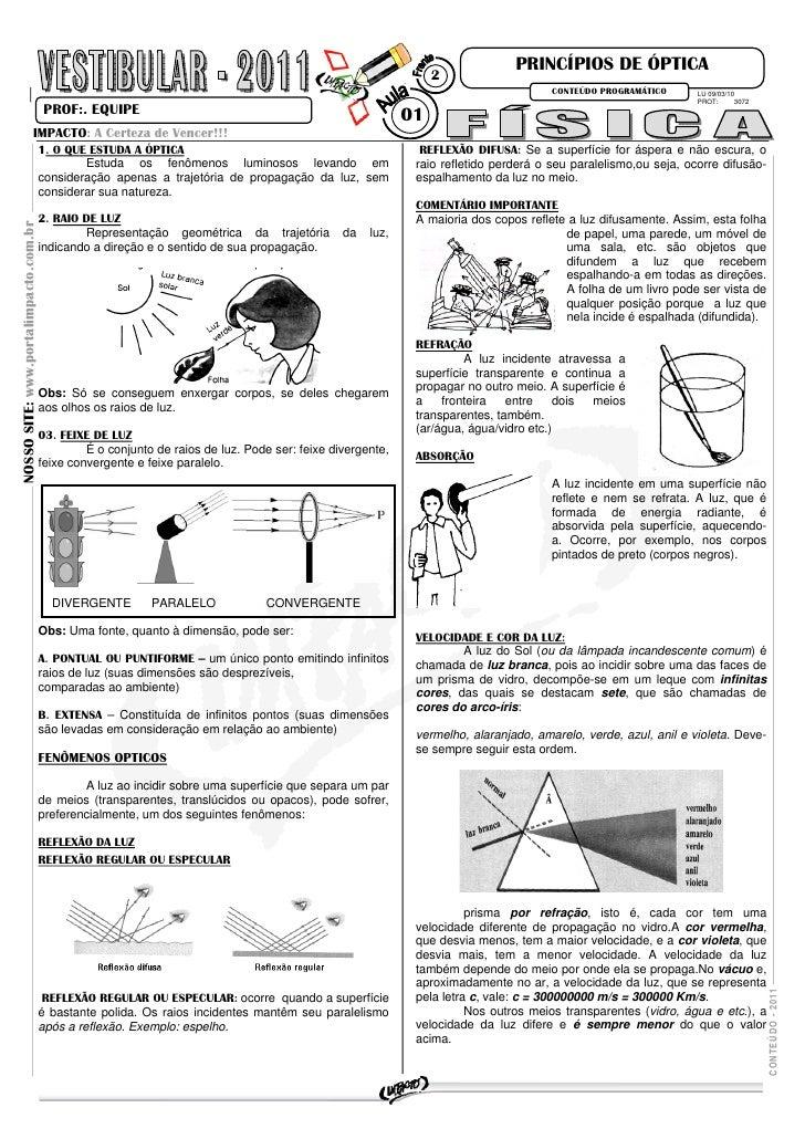 PRINCÍPIOS DE ÓPTICA                                                                                                      ...