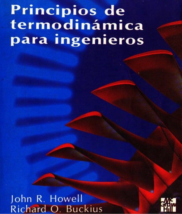 Principios  de Termodinámica  para Ingeniería
