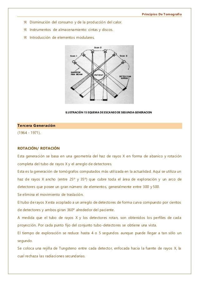 Principios De Tomografía  Disminución del consumo y de la producción del calor.  Instrumentos de almacenamiento: cintas ...