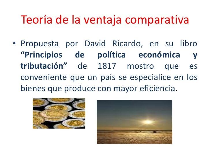 Principios te ricos que promueven el comercio internacional for Comercio exterior que es