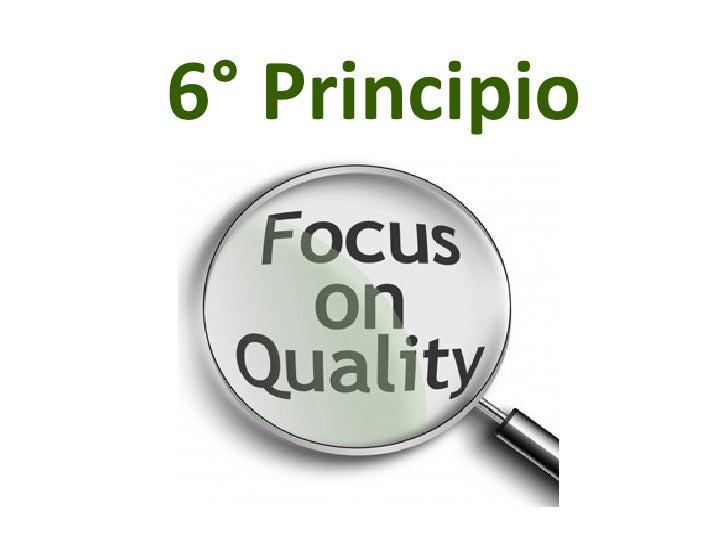 6° Principio