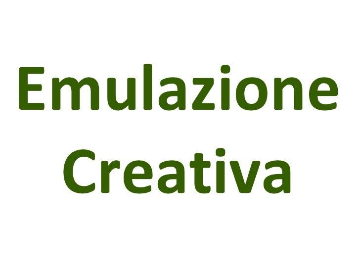 Emulazione Creativa
