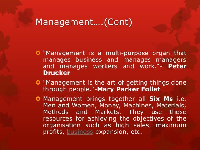 principle practices of management A principle refers to a fundamental truth it establishes cause and effect relationship between two or more variables under given situation they serve as a guide to thought & actions therefore, management principles are the statements of fundamental truth based on logic which provides guidelines.