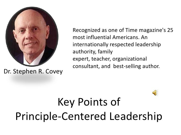 Recognized as one of Time magazine's 25 most influential Americans. An internationally respected leadership authority, fam...