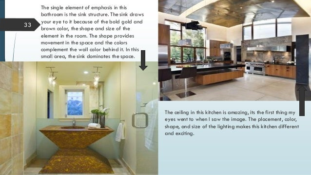 32; 33. 33 The single element ... & Principles of Interior Design