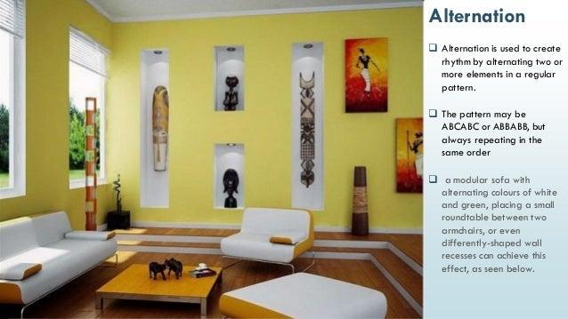 ... 43. & Principles of Interior Design