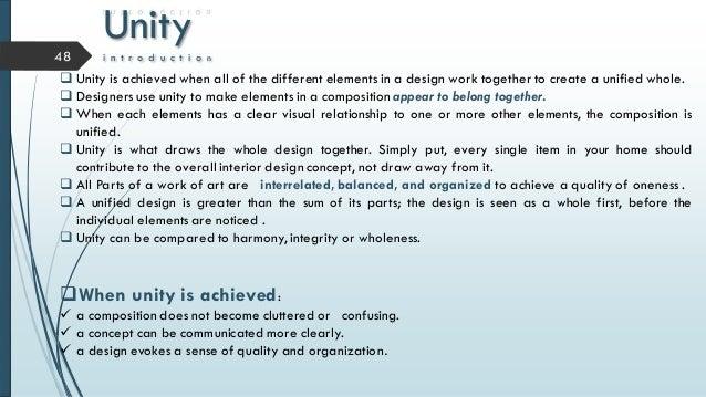76 Unity Interior Design Definition Principles Of