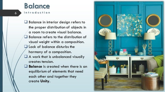 Balence Balance I N T R O D U C In Interior Design With Principles Of Pdf