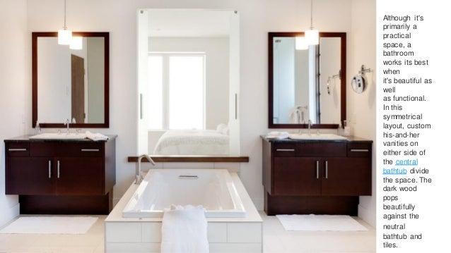 Principles of interior design for Bathroom design principles