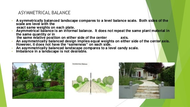 Principle of landscape design - Garden design basics ...