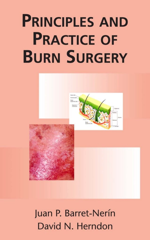 PRINCIPLES AND PRACTICE OF BURN SURGERY