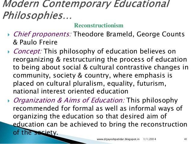 ed philosophy essay