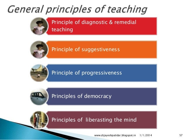 principle of teaching If you know it, you can teach it knowledge of content is very important, and graduate schools focus on developing that knowledge, usually at the.