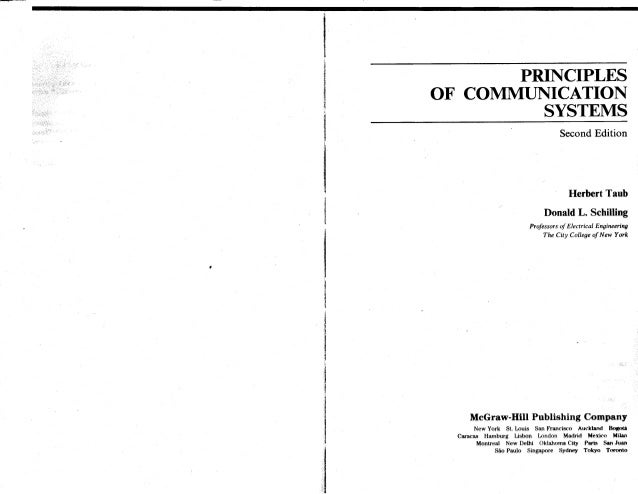 principles of communication systems by herbert taub and donald l schi rh slideshare net Calculus Student Solutions Manual PDF Textbook Solution Manuals