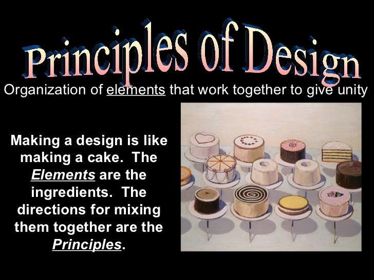 Principles of Design Slide 2