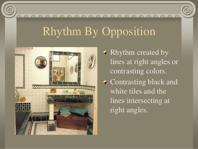 Rhythm by opposition
