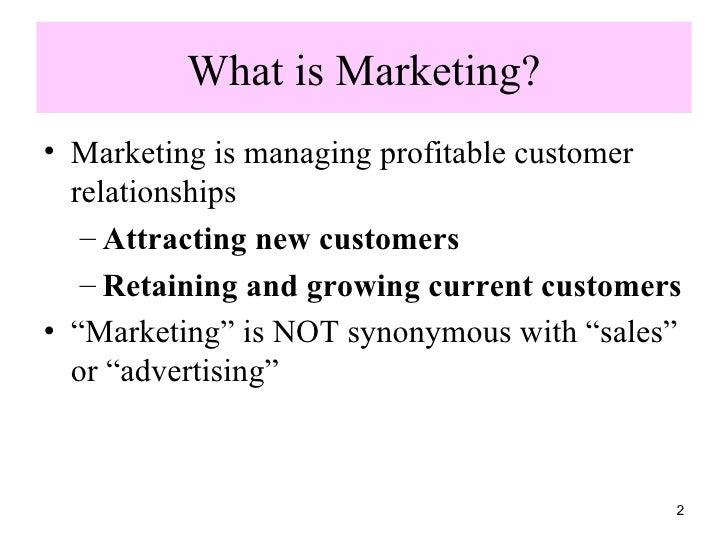 Principles Of  Marketing 1 Slide 2
