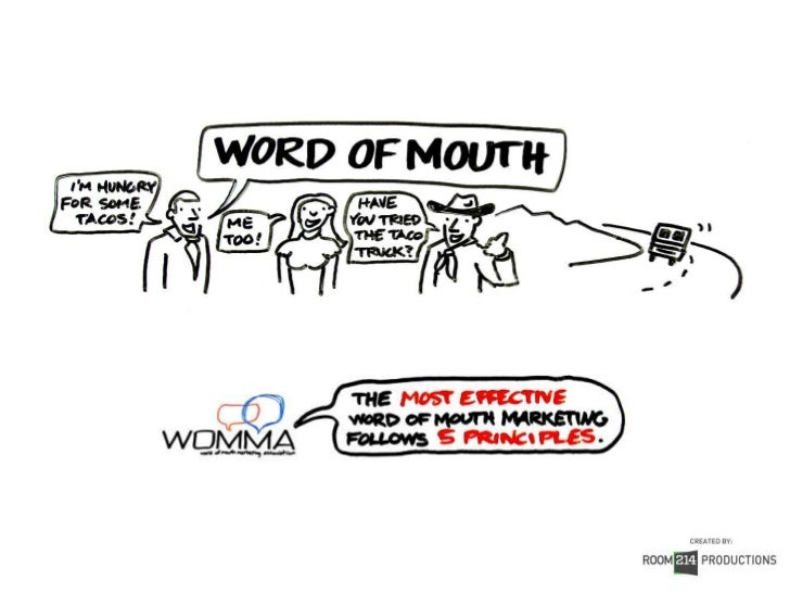See the full story behind the five principles:View the Principles of Word of Mouth Video Scribe      Interested in creatin...