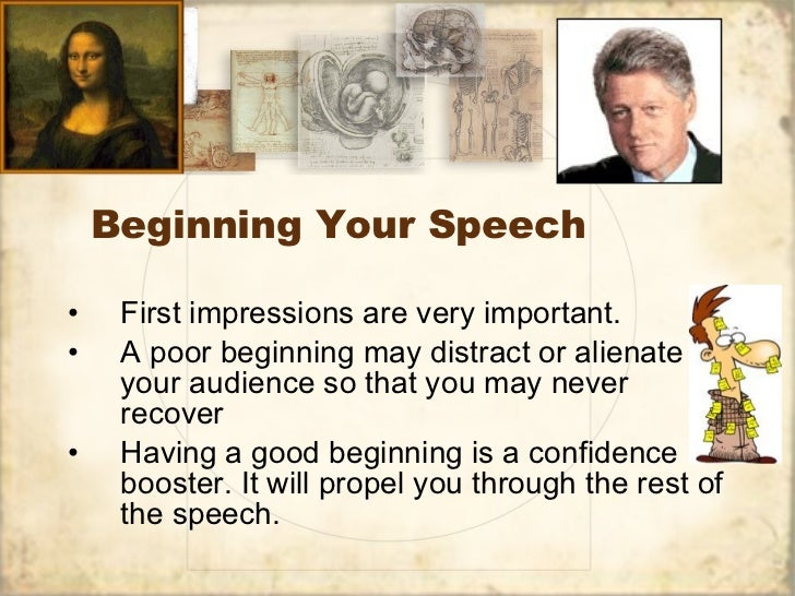 principles of writing a great persuasive speech  written version of this power point 2 beginning your speech