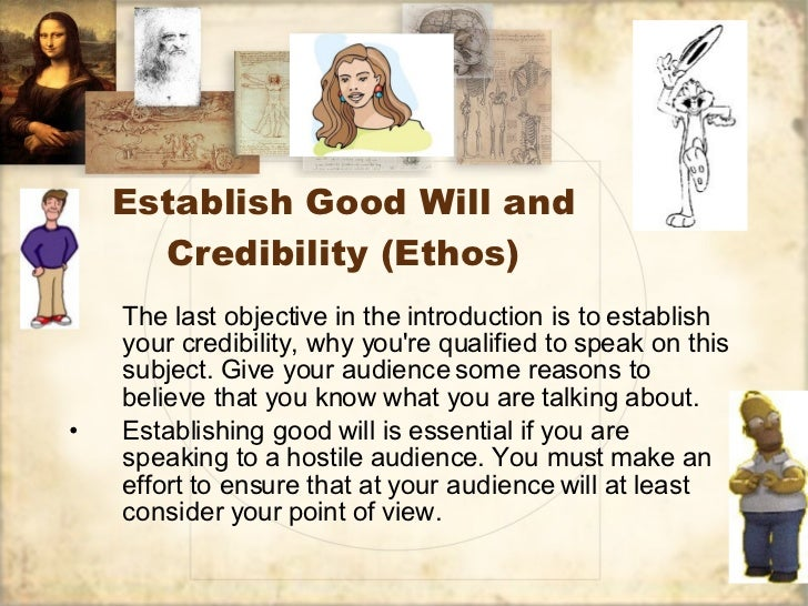 principles of writing a great persuasive speech  9 establish good