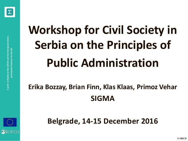 principles of public administration 1 teaching ideas and principles of public administration: is it possible to achieve a common european perspective bernadette connaughton1 and tiina randma2 introduction.