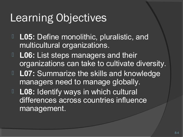 how to manage multicultural workforce Managing in a multicultural workplace in managing cross-culturally, we need to  recognise that up to half of workplace behaviour, including.