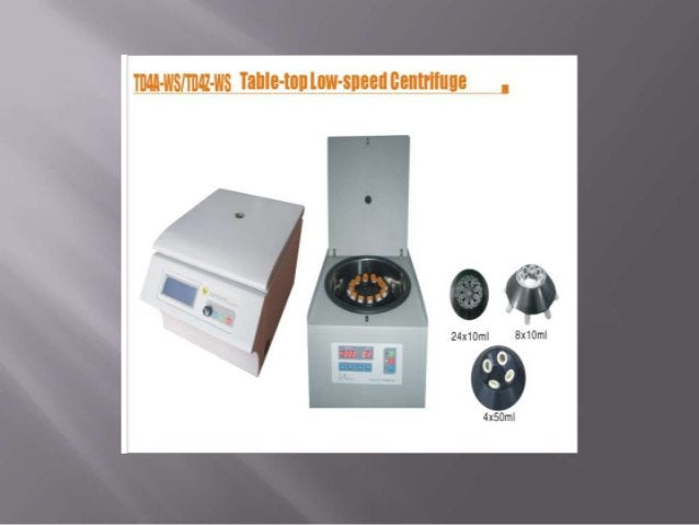       HIGH SPEED CENTRIFUGES 1)High speed centrifuges are used in more sophisticated biochemical applications,higher ...